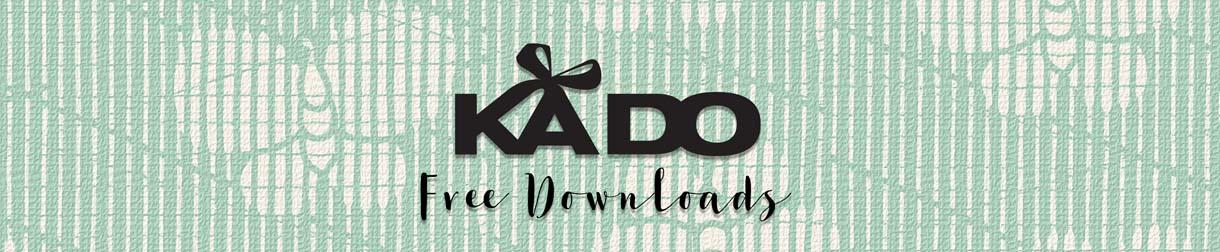 Kado cadeau, gratis downloads, menstruatiekalender